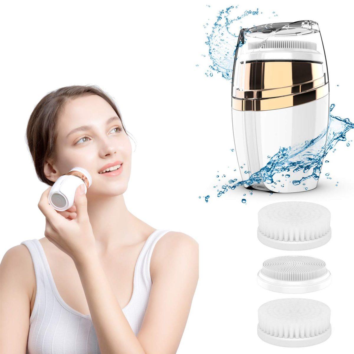 Četka za čišćenje lica sa tri nastavka