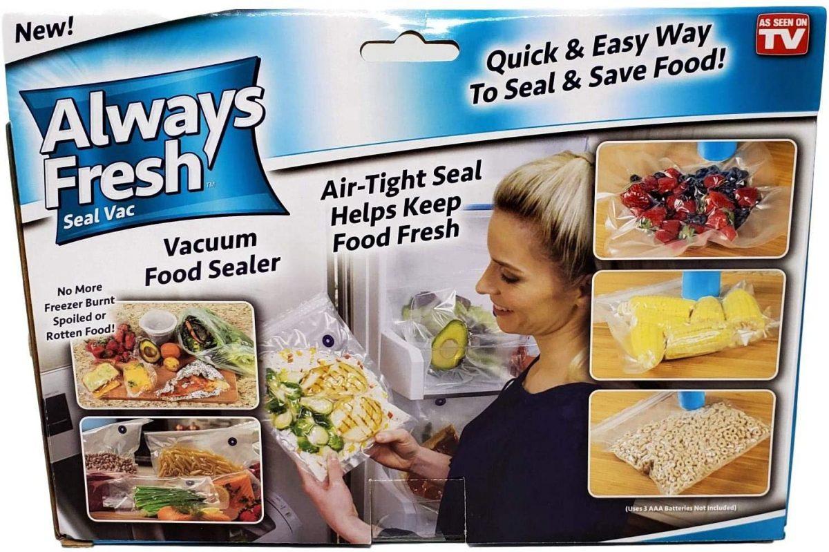 Always Fresh uređaj za vakumiranje hrane