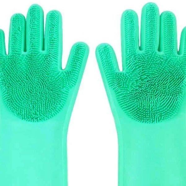 Silikonske rukavice za pranje sudova